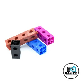 Stock Photo: Styled Snap Cubes