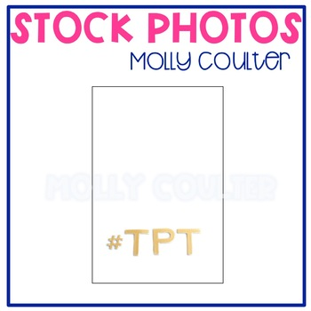 """FREEBIE Stock Photo: """"#TPT""""-Personal & Commercial Use"""