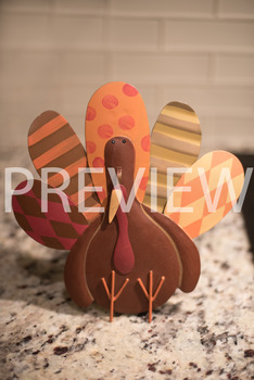 Stock Photo: Thanksgiving Turkey -Personal & Commercial Use