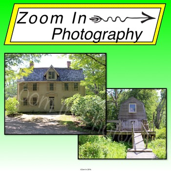 Stock Photo: The Old Manse House and The Old Manse's Boathouse