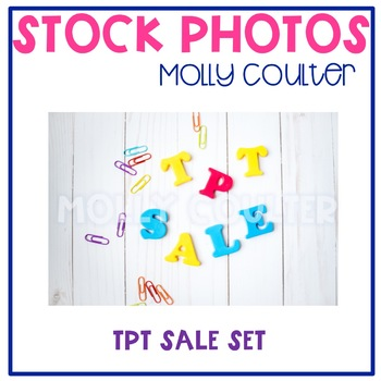 "Stock Photo: ""TpT Sale""-Personal & Commercial Use"