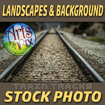 Stock Photo - Train Tracks - Photograph - Arts & Pix