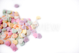 Stock Photo: Valentine Candy Hearts 3 -Personal & Commercial Use