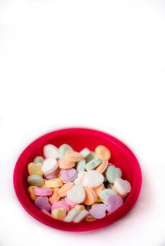 Stock Photo: Valentine's Heart Confetti 2 -Personal & Commercial Use