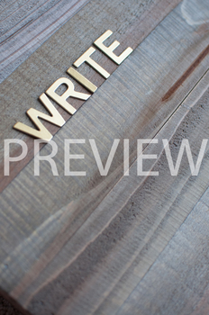 """Stock Photo: """"Write"""" -Personal & Commercial Use"""