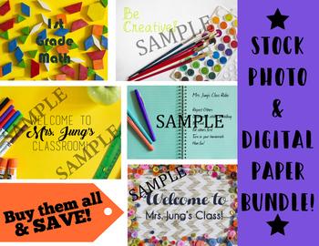 Stock Photo and Digital Paper *MEGA BUNDLE*