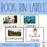 Stock Photography Book Labels: Primary Color(ish) Theme