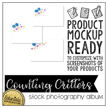 Stock Photography Membership Counting Critters Math Album by Edunista