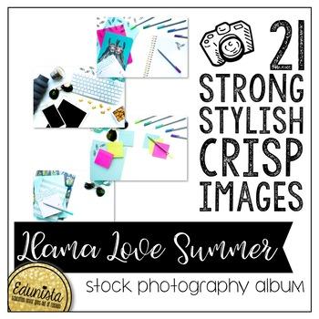 Stock Photography Membership Llama Love Summer Album by Edunista