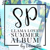 Stock Photography Membership Llama Love Summer Album by Edunista