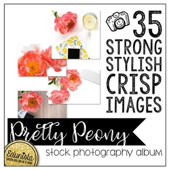 Stock Photography Membership Pretty Peony Album by Edunista