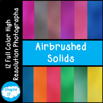 Stock Photos-Airbrushed Solids