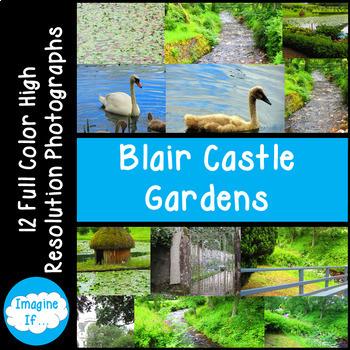 Stock Photos-Blair Castle Gardens