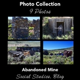 Stock Photos: Abandoned Mine, Ghost Town: Collection