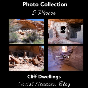 Stock Photos: Native American Cliff Dwellings - Collection