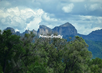 Stock Photos Collection - Storms Forming Over the Mountains