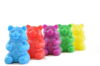 Stock Photos - Counting Bears - Stock Images