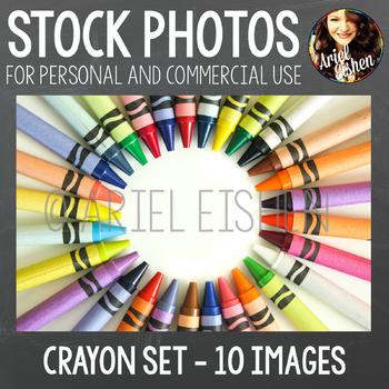 Stock Photos - Crayon Set