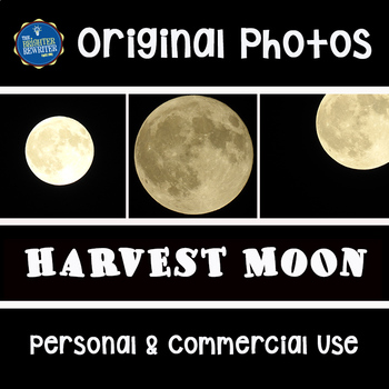 Photos for Commercial Use: Harvest Moon