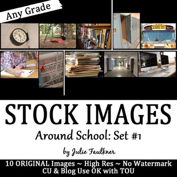 Stock Photos, Images {Around School, Set #1}, CU OK with TOU