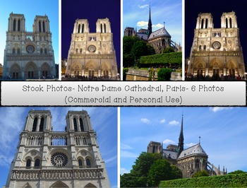 Stock Photos: Notre Dame Cathedral, Paris
