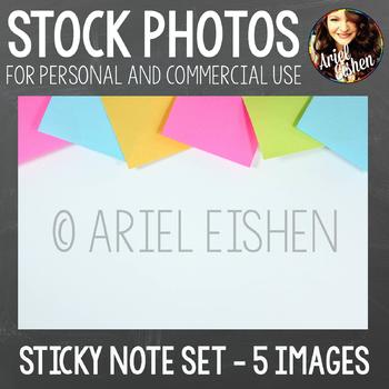 Stock Photos - Post It Set