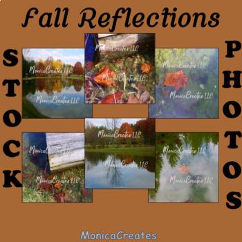 Stock Photos -Fall Reflections - 6 Photographs