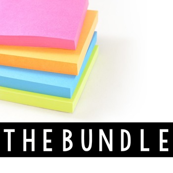 Stock Photos Styled Images - Sticky Notes