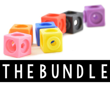 Stock Photos Styled Images - Unifix Cubes