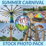 Stock Photos - Summer CARNIVAL Rides - Mini Bundle - Arts & Pix