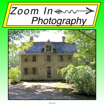 Stock Photos: The Old North Bridge and The Old Manse House Bundle
