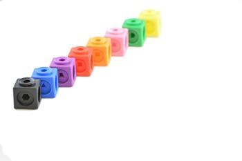 Stock Photos - Unifix Cubes - Stock Images