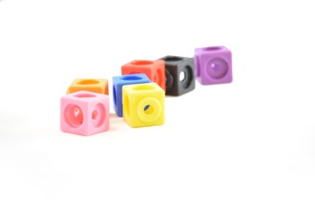 Stock Photos - Unifix Cubes - Stock Images