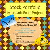 Stock Portfolio in Microsoft Excel