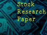 Stock Research Paper