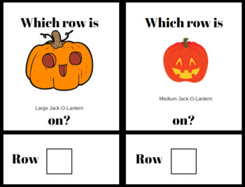 Stock the Shelves w/ TASK CARDS- Halloween Edition- Job/Vocational Skills