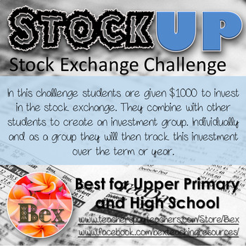 StockUp - A Stock Market (Stock Exchange) challange for the Maths classroom