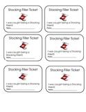 Stocking Filler Tickets
