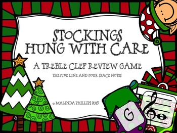 Stockings Hung With Care: Treble Clef Staff Review
