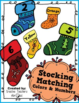 Stocking Matching Colors & Numbers