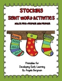 Stocking Sight Word Activity Pack