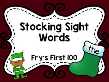 Stocking Sight Words: Fry's First 100
