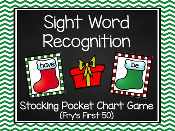 Stocking Sight Words: Fry's First 50