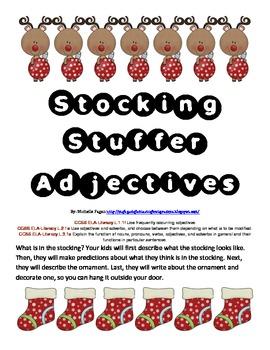Stocking Stuffer Adjectives