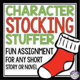 CHRISTMAS CHARACTER ANALYSIS: STOCKING STUFFER
