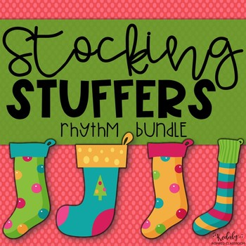 Stocking Stuffers Interactive Game {Bundled Rhythm Game}