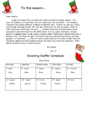 Stocking Stuffers Letter