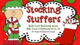 Stocking Stuffers - {Math Fact Game With Sums and Differences to 20}