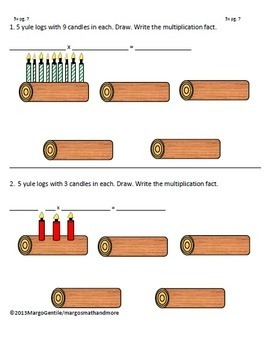 Read Draw Write Stocking Stuffers Multiplication Worksheet Collection