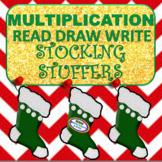 Read Draw Write Stocking Stuffers Multiplication Worksheet
